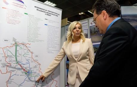 Aleksandra Damnjanović, državni sekretar u Ministarstvu građevinarstva, saobraćaja i infrastrukture, otvorila 45. Međunarodni sajam građevinarstva
