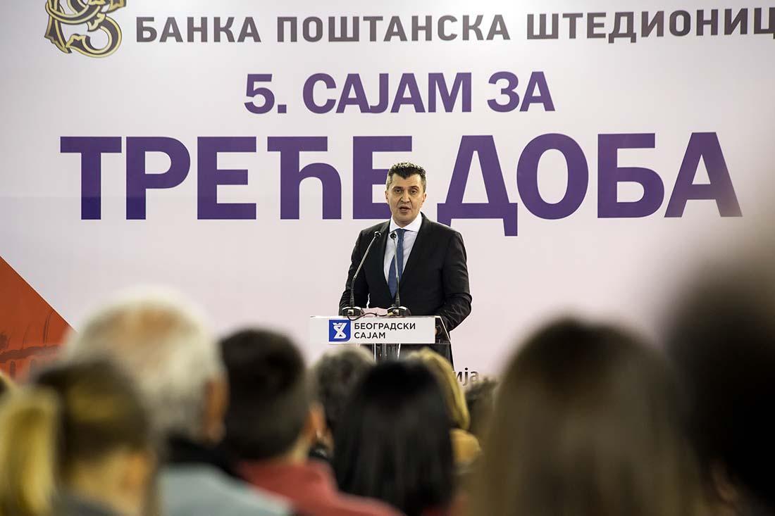 Zoran Đorđević, ministar za rad, zapošljavanje, boračka i socijalna pitanja