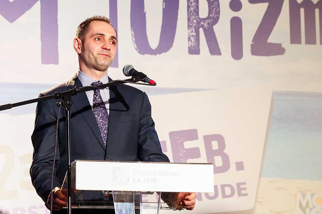 Pavle Radulovic, ministar odrzivog razvoja i turizma Crne Gore