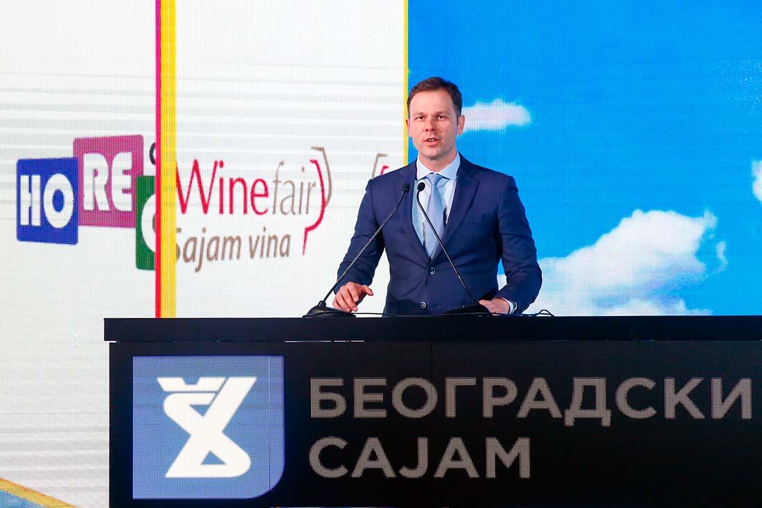Gradonačelnik Beograda Siniša Mali