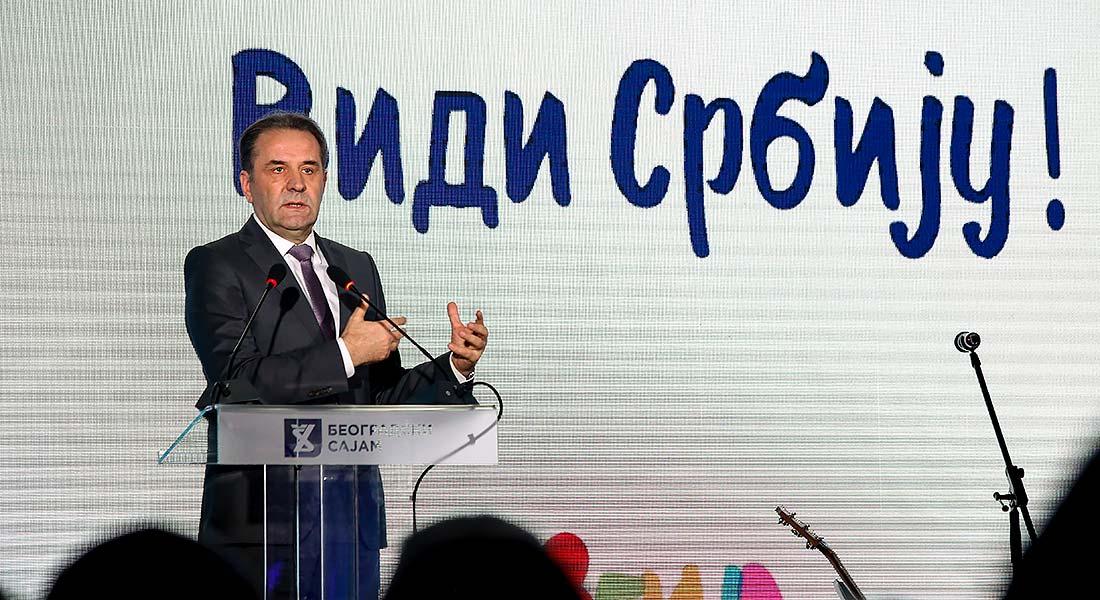 Потпредседник Владе и министар трговине, туризма и телекомуникација Расим Љајић